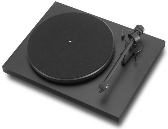 Pro-Ject Debut III (OM10) - Hoogglans Zwart