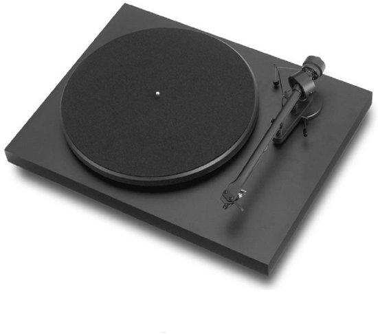 Pro-Ject DEBUT III - Platenspeler - Mat Zwart