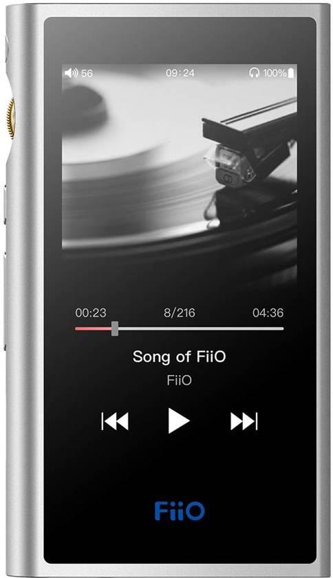FiiO M9 Zilver