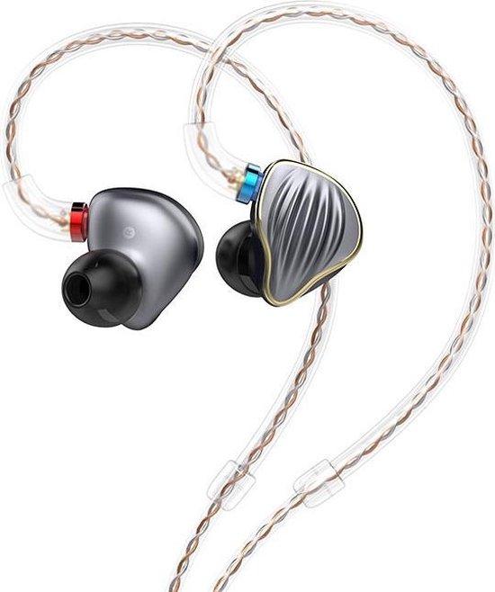 FiiO FH5 headphones/headset Hoofdtelefoons In-ear Titanium
