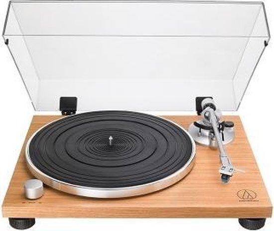 Audio-Technica AT-LPW30TK Draaitafel met riemaandrijving Hout