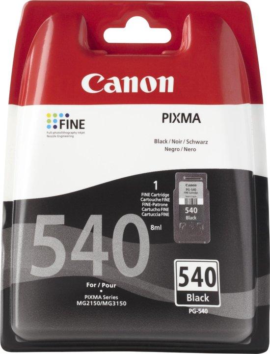 Canon PG-540 inkt cartridge zwart (origineel)