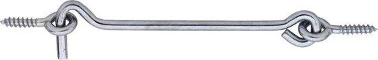 DX Windhaak met Schroefogen Ø5,25x160mm RVS 304 389-160I