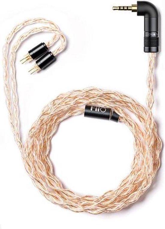 FiiO LC-RE 2-Pin audio kabel 1,2 m Metallic