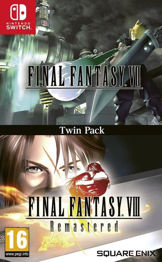 Final Fantasy VII en VIII Twin Pack - Switch