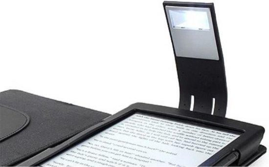 i12Cover - Universeel LED Leeslampje met verstelbare voet - Zwart