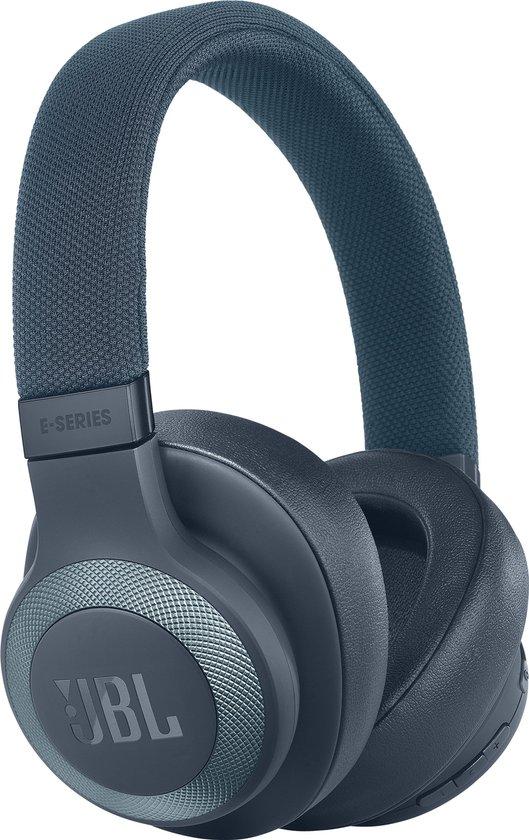 JBL E65BT NC - Draadloze over-ear koptelefoon met noise cancelling - Blauw