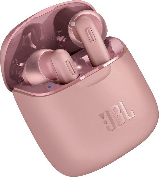 JBL Tune 220TWS - Volledig draadloze oordopjes- Roze