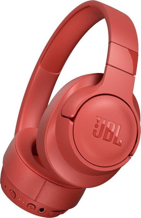 JBL Tune 750BT - Over-ear koptelefoon met Noise Cancelling - Rood