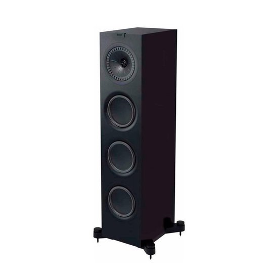 KEF Q550 Zwart luidspreker