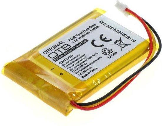 OTB Accu 3,7V / 1250mAh voor Sennheiser headset DW 800 en TomTom One V1