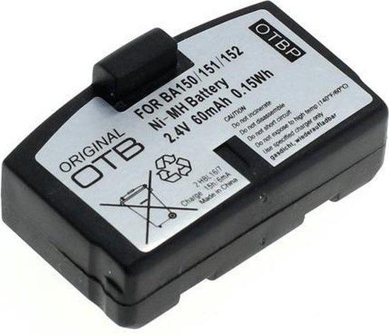 OTB Accu Batterij Sennheiser BA 150, BA 151, BA 152 - 60mAh