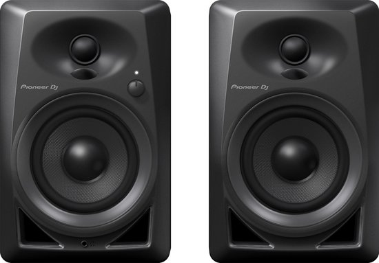 Pioneer DJ DM-40 - Monitorluidspreker - Zwart