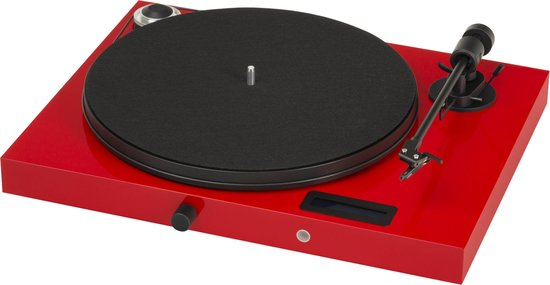 Pro-Ject Jukebox E OM5e Platenspeler - Rood