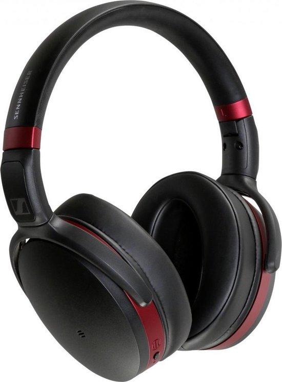 Sennheiser HD 458BT - Draadloze koptelefoon met Noise Cancelling - Zwart/Rood