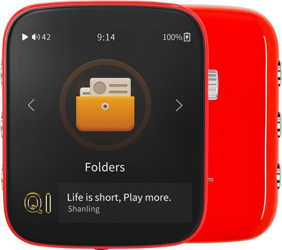 Shanling Q1 Portable Music Player - Fire Red