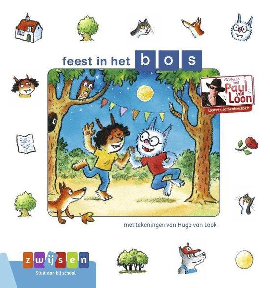 AVI-lezen met Paul van Loon - feest in het bos