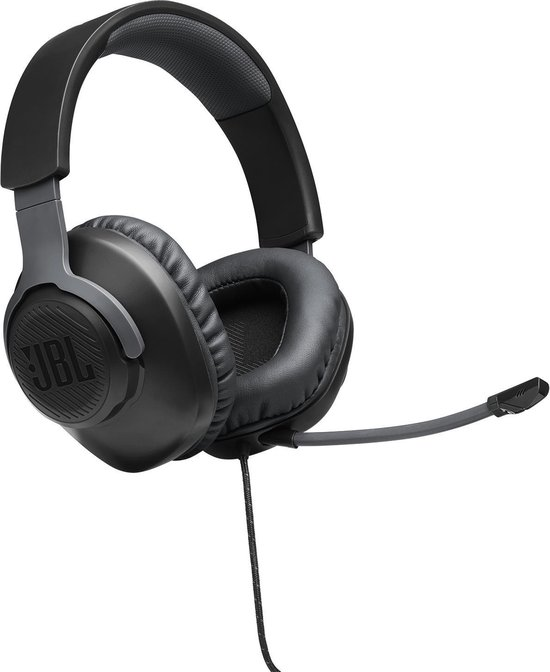 JBL Quantum 100 Zwart Gaming Headphones - Over Ear - PC & Xbox
