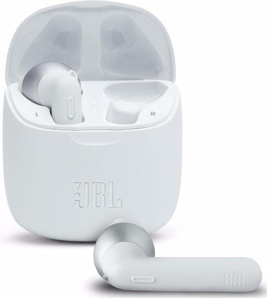 JBL Tune 225TWS Wit - Volledig draadloze oordopjes