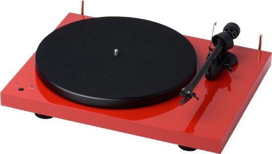 Pro-Ject Debut RecordMaster OM10 Platenspeler - Rood