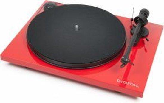 Pro-Ject Essential III Digital OM10 Platenspeler - Rood