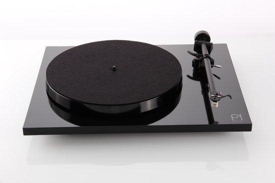 Rega Planar 1 Platenspeler - Carbon Cartridge - Zwart