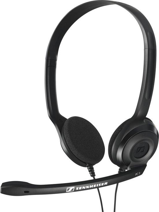 Sennheiser PC 3 Chat - On-ear headset - Zwart