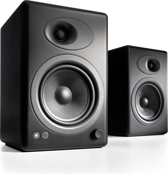 Audioengine A5+ - Luidsprekers - Zwart