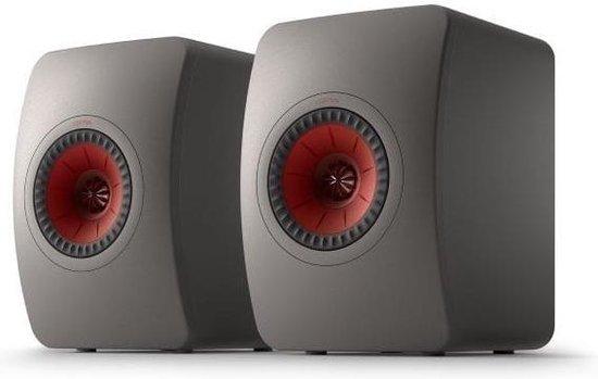 KEF LS50 Meta Boekenplank speaker titanium grey (per paar)