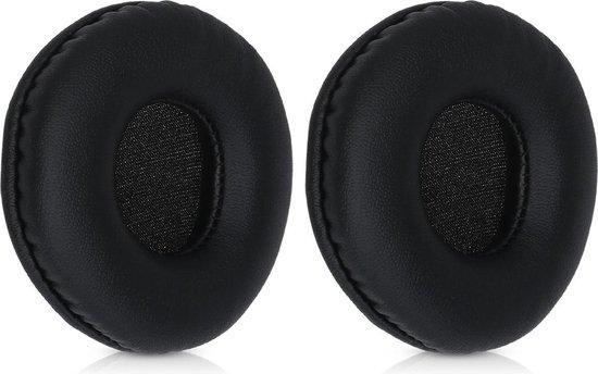 kwmobile 2x oorkussens voor JBL Tune 600BTNC / 500BT / T450BT koptelefoons - imitatieleer - voor over-ear-koptelefoon - zwart