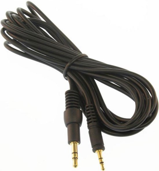 Sennheiser 3,5mm Jack - 2,5mm Jack audio kabel - Zwart
