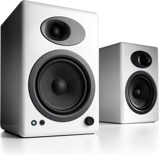 Audioengine A5+ - Luidsprekers - Wit