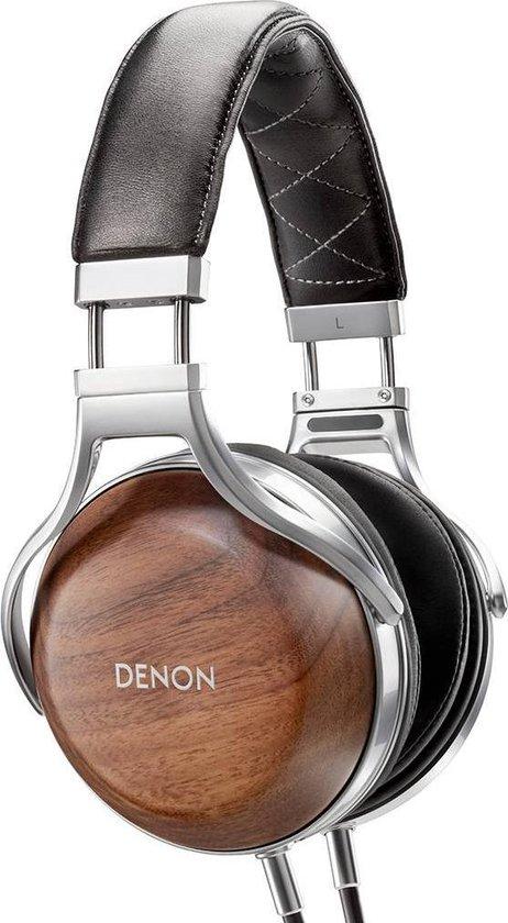 Denon AH-D7200 Hoofdtelefoons Hoofdband Zwart, Zilver