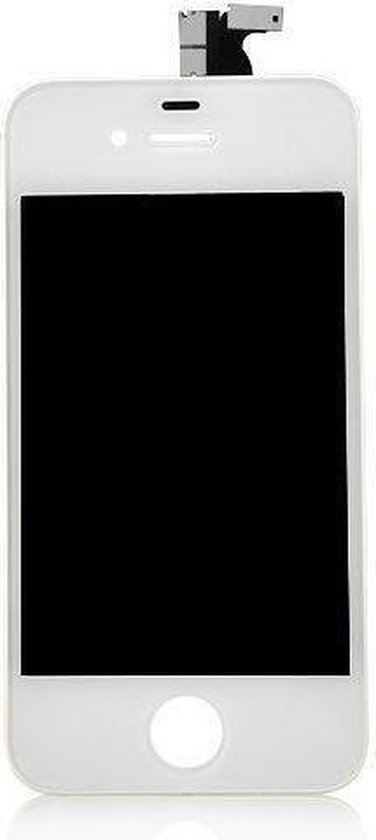 iPhone 4S LCD display / Digitizer / Touchscreen vervangen Wit