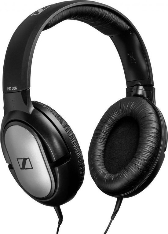 Sennheiser HD 206 Hoofdtelefoons Hoofdband - Zwart/zilver