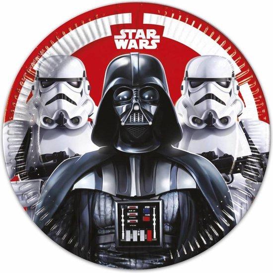 Star Wars Final Battle borden - 8 stuks