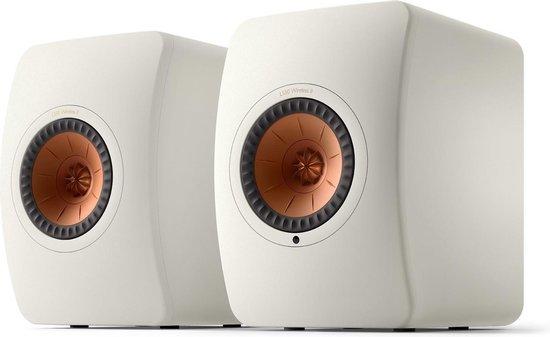 KEF LS50 Wireless 2 Boekenplank speaker Mineral White (per paar)