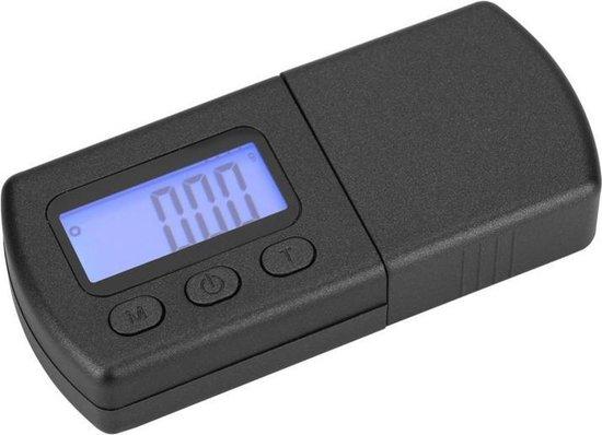 Naalddrukweger - Naalddruk weegschaal - Platenspeler naalddruk meter - Batterijen inbegrepen - Platenspeleraccessoires