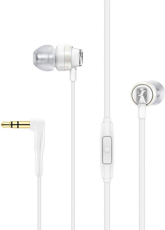 Sennheiser CX 300s - In-ear oordopjes - Wit