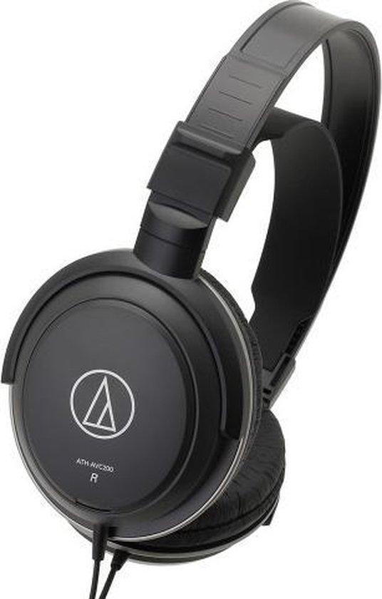Audio-Technica ATH-AVC200 Zwart - Over-ear koptelefoon