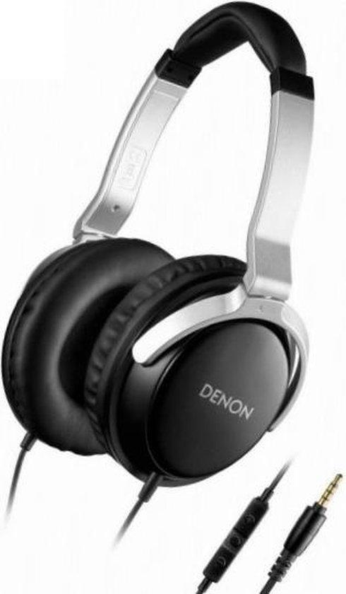 Denon AH-D510R Hoofdtelefoons Hoofdband Zwart, Zilver