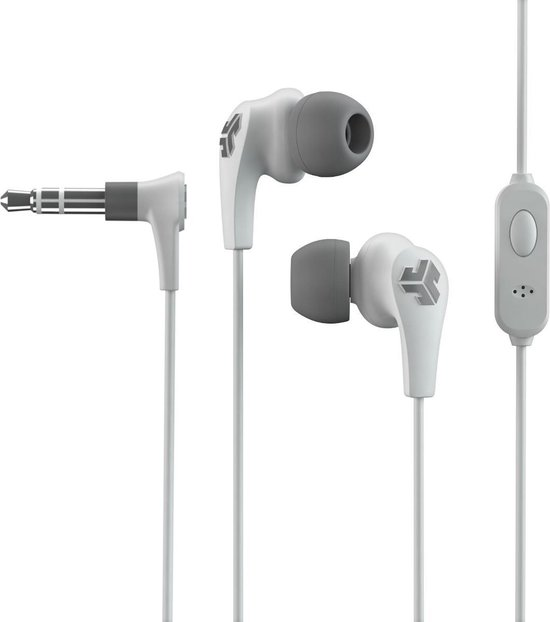 JLab Audio Jbuds Pro Signature - In-Ear Oordopjes - 3,5 mm Aux - Wit