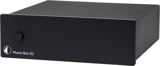 Pro-Ject Phono Box S2 zwart Phono voorversterker