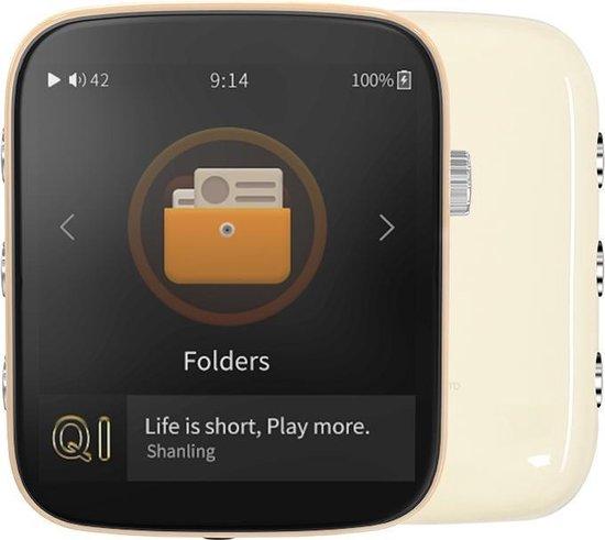 Q1 Portable Music Player Creamy White