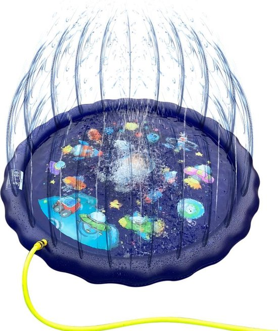 Sprinkler Play Mat - Waterspeelmat - Waterspeelgoed - Ø 150 cm - Blauw