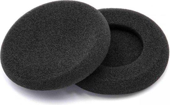 VHBW Oorkussens compatibel met Audio Technica ATH-ES5, Koss en diverse Sennheiser hoofdtelefoons / zwart