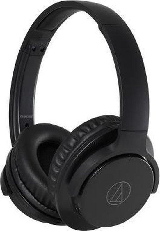 Audio-Technica ATH-ANC500BT Zwart - Draadloze over-ear koptelefoon
