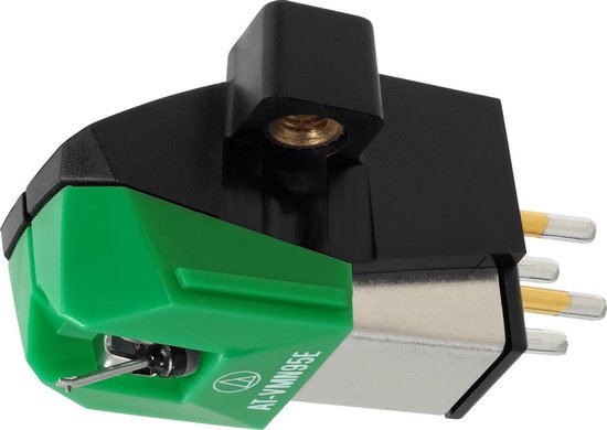 Audio Technica VM95 series Elliptical stereo cartridge, Green
