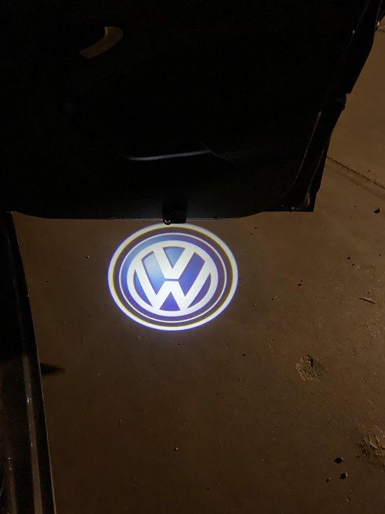 Auto Logo Projector - Portier verlichting - Volkswagen - Draadloos - 2 stuks - Led Lamp
