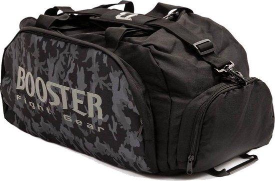 Booster Sporttas - Duffle - Zwart Camo - Small - 8462